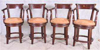 (4) Guy Chaddock & Co Country English barstools