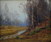 Gustave Wiegand Impressionist Painting