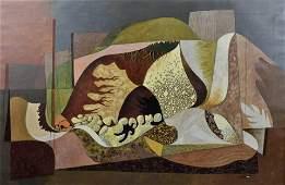 "John Atherton Surrealist ""Quarry Abstraction"""