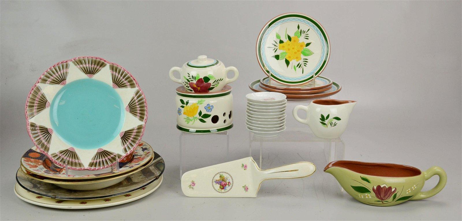Lot of Porcelain & Pottery