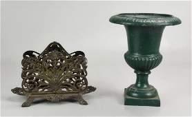 (2) Cast Iron Items