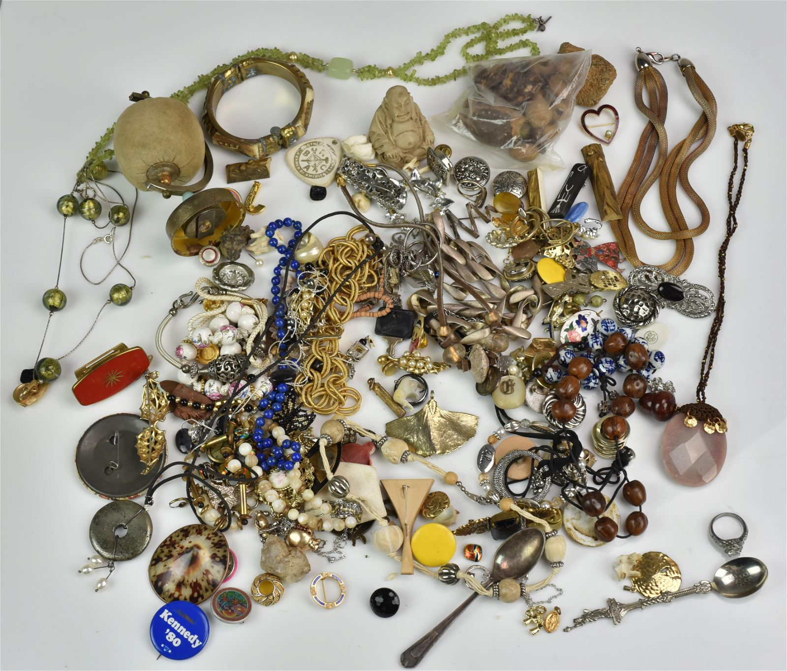 Gold, Sterling Silver and Costume Jewelry