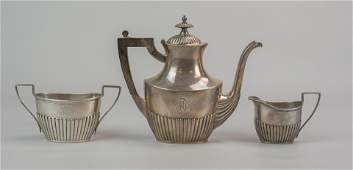 5 pc Gorham sterling silver tea set