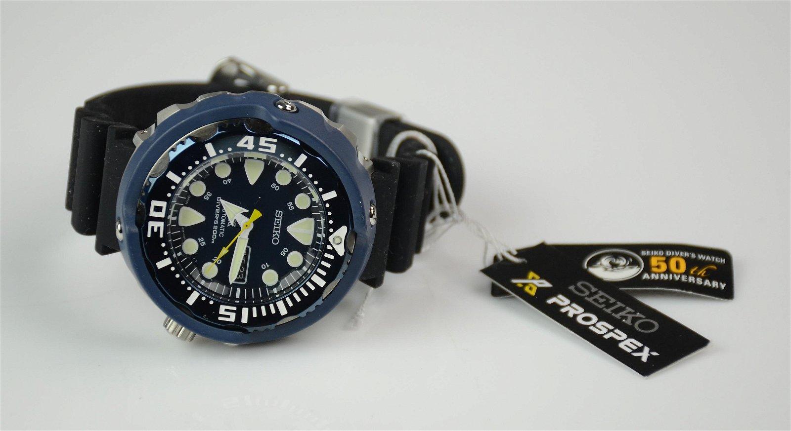 Men's Seiko Automatic 50th Anniversary Diver's watch
