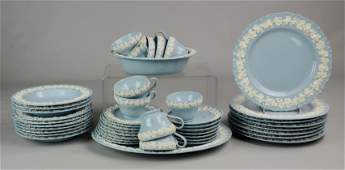 (45) Pcs Wedgwood Queensware Dinnerware