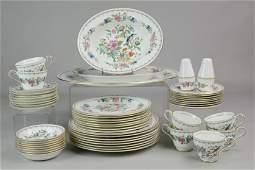 (52) Pcs Aynsley Pembroke Repro Dinnerware