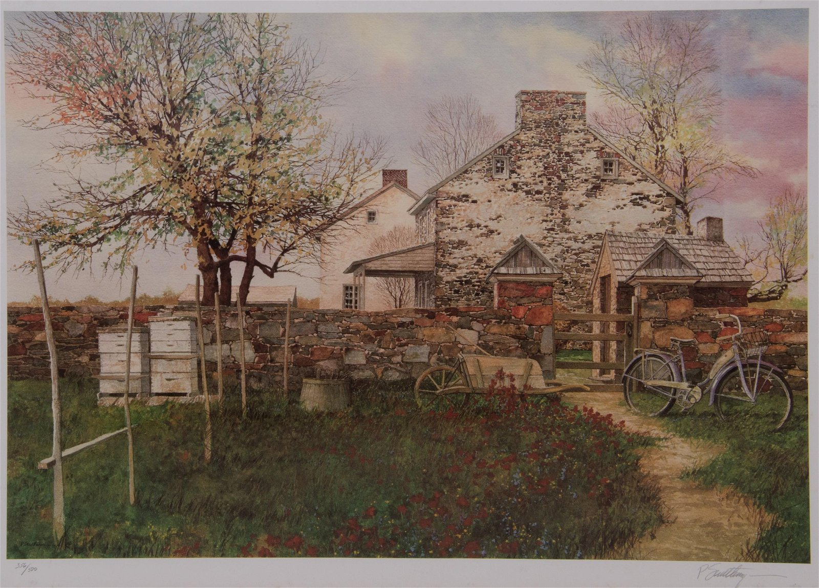"Peter Sculthorpe Lithograph ""Spring Fever"""