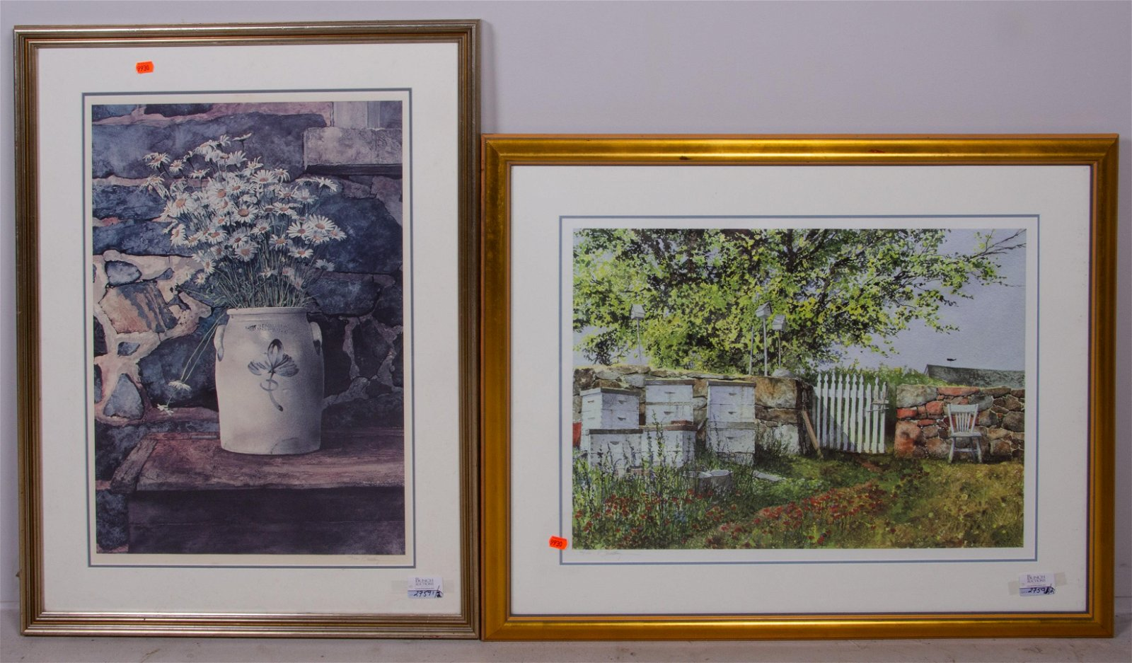 """Peter Sculthorpe (2) Lithographs, """"Just Picked"""""""