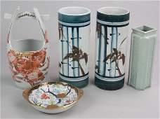 5 Pcs Asian Porcelain