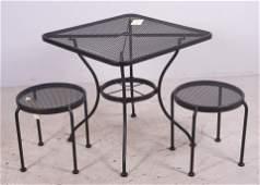 3 pc Salterini style patio set