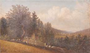 Charles B. Russ Landscape Painting