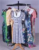 Vintage DVF and Printed Dress Grouping