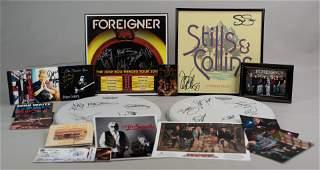 Signed Musician Photos & Flats