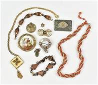 Mixed Costume and Vintage GF Jewelry Lot