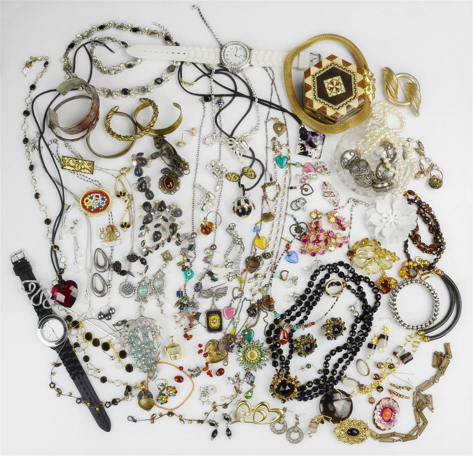 Mixed Lot of Costume Jewelry