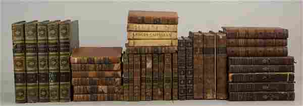 Antique Sets of Keats, Pope, Crabbe, Shelley, Voltaire,