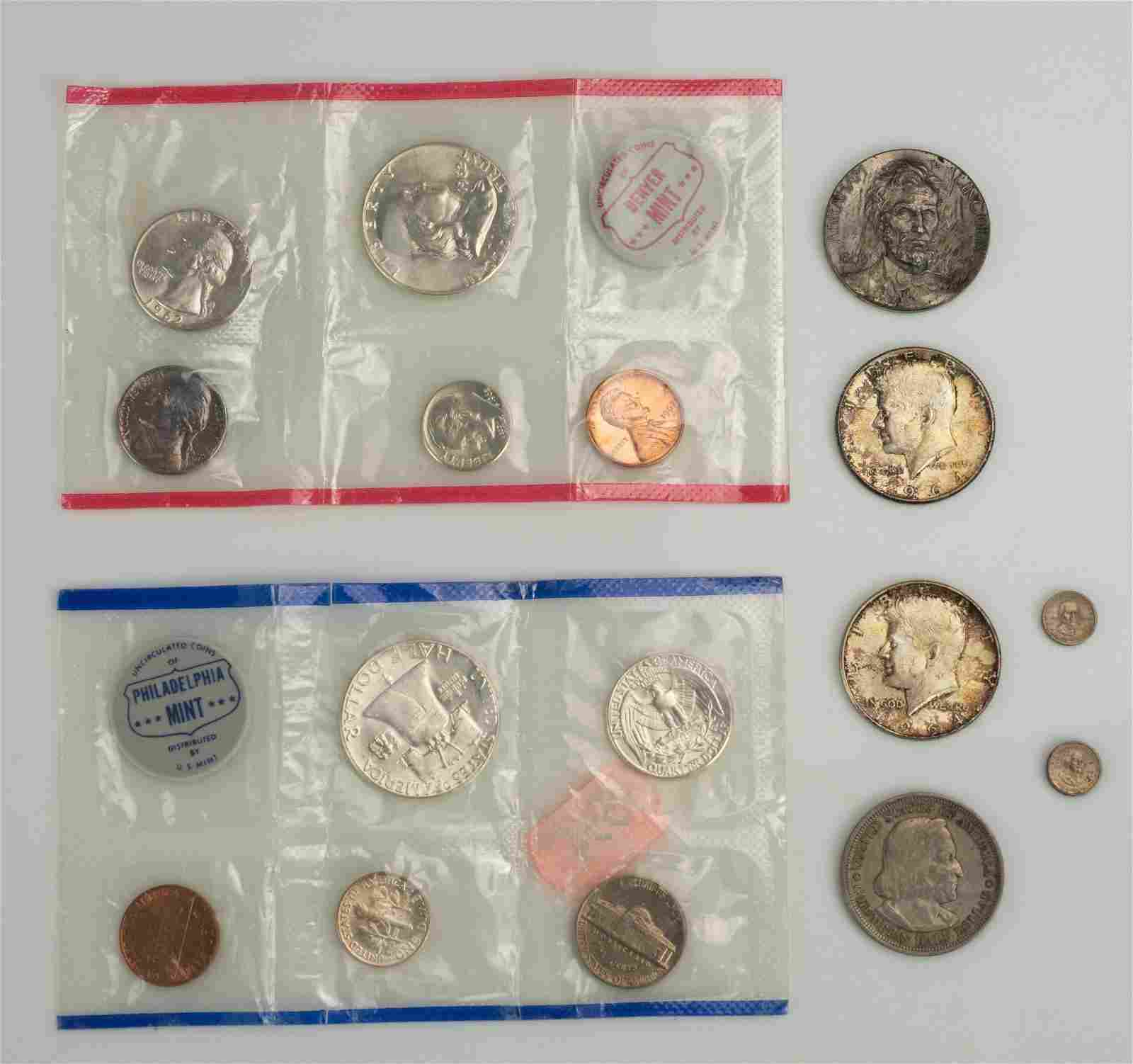 US Mint Sets, Silver Coins, Medallions