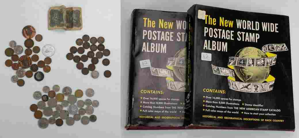 Indian Head & Lincoln Cents, Foreign Coins, Tokens