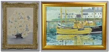 2 20th C American Impressionist Paintings