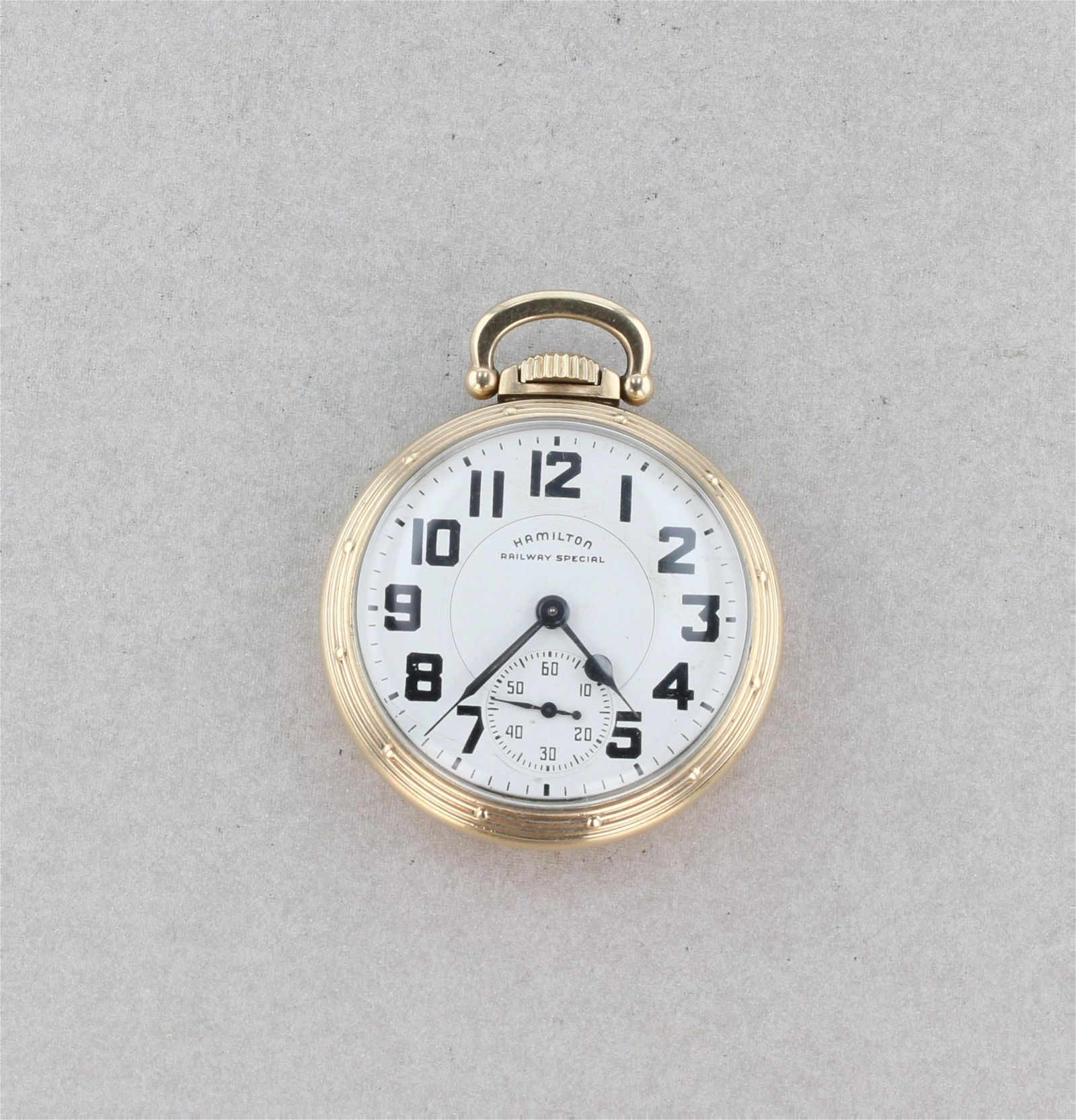 1949 Hamilton Railway Special Pocket Watch