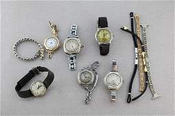 Vintage Watches and Band Parts