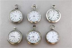 Antique Pocket Watch Lot