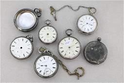 Pocket Watch Lot - Silvertone