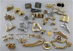 Me's Jewelry Collection Pins, Cufflinks, Tie Bars