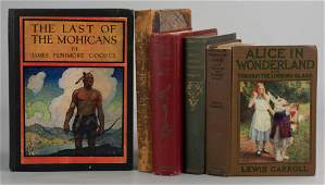 (5) Classic Novels, two owned by Oliver Hopkinson