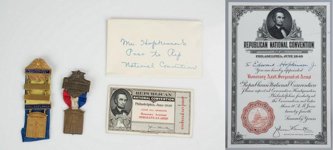 Mr. Hopkinson's 'Pass to Republican National