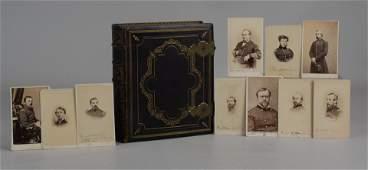 Civil War General Signed Photograph Album 1864,