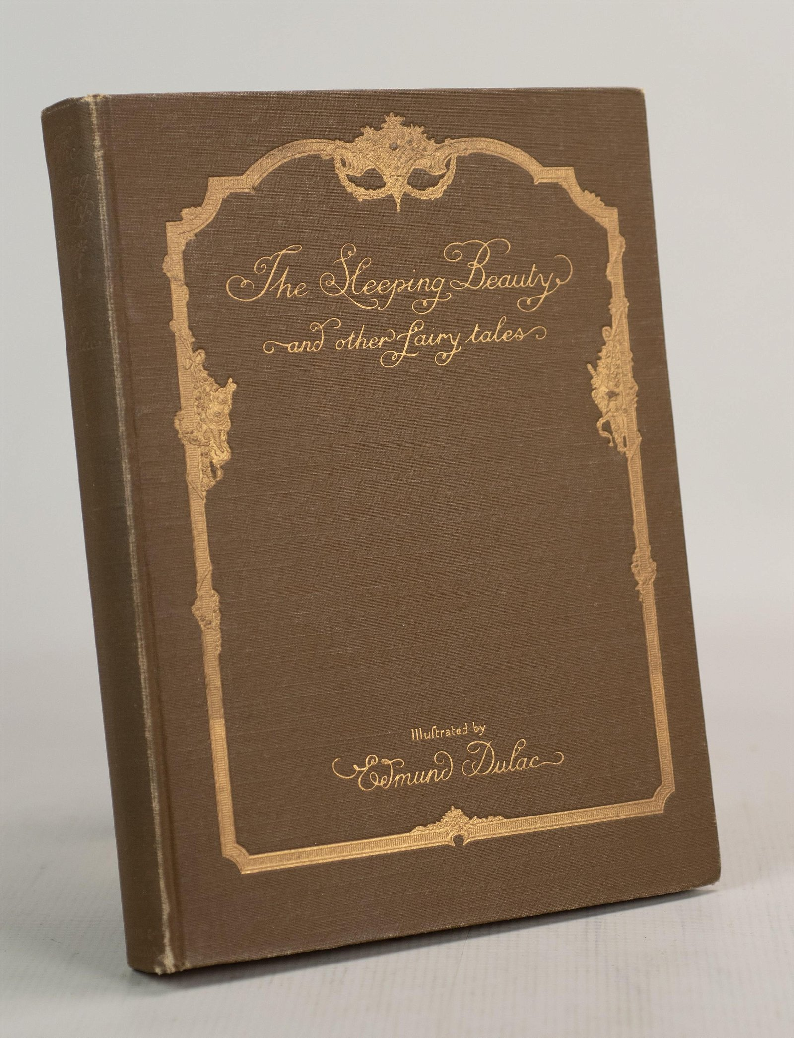 "(4) Edmund Dulac Illustrated Editions ""Sleeping"