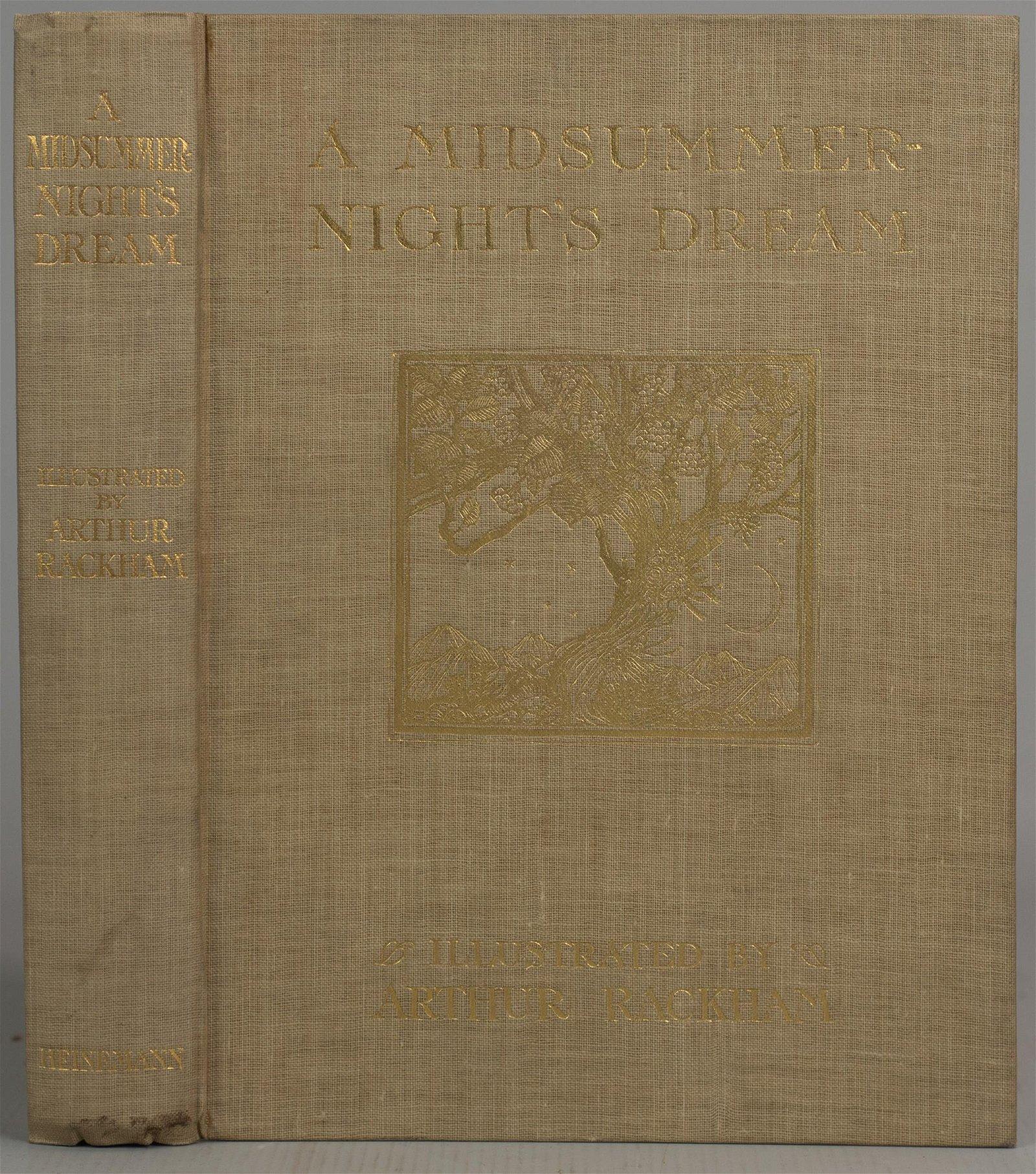 """Arthur Rackham, """"Midsummer Night's Dream"""""""