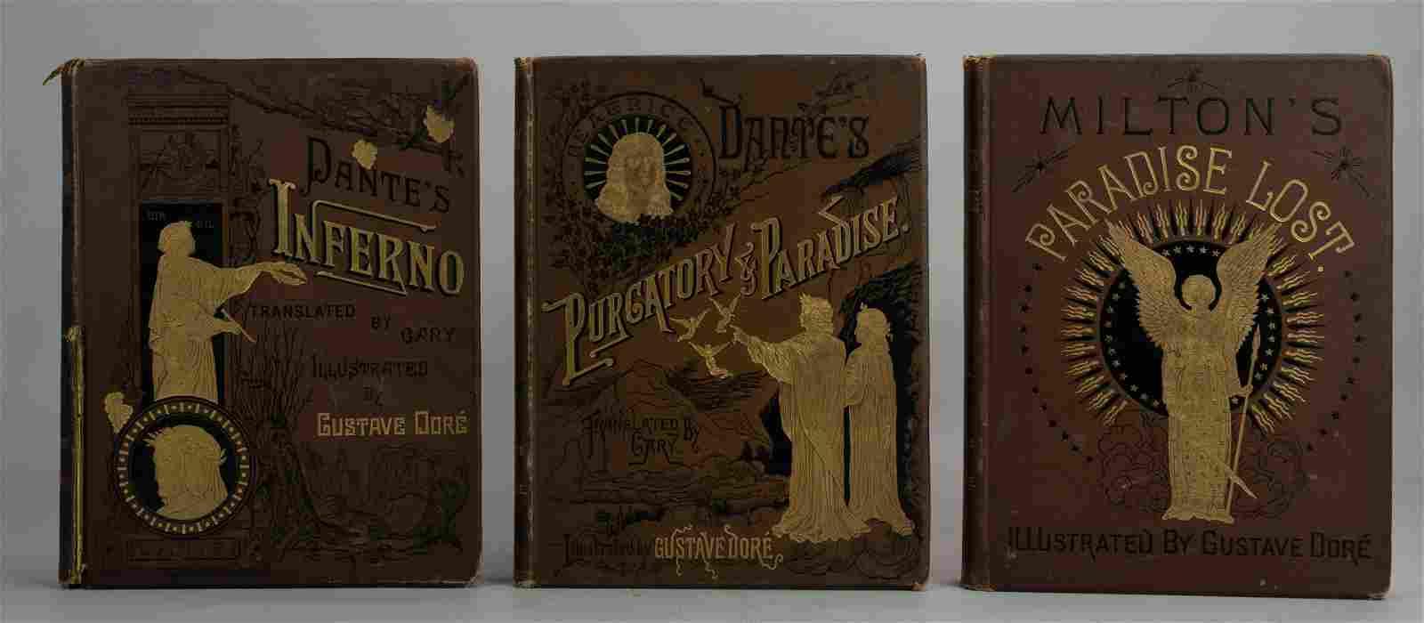 "Dore Illustrated ""Inferno, Purgatory and Paradise"","