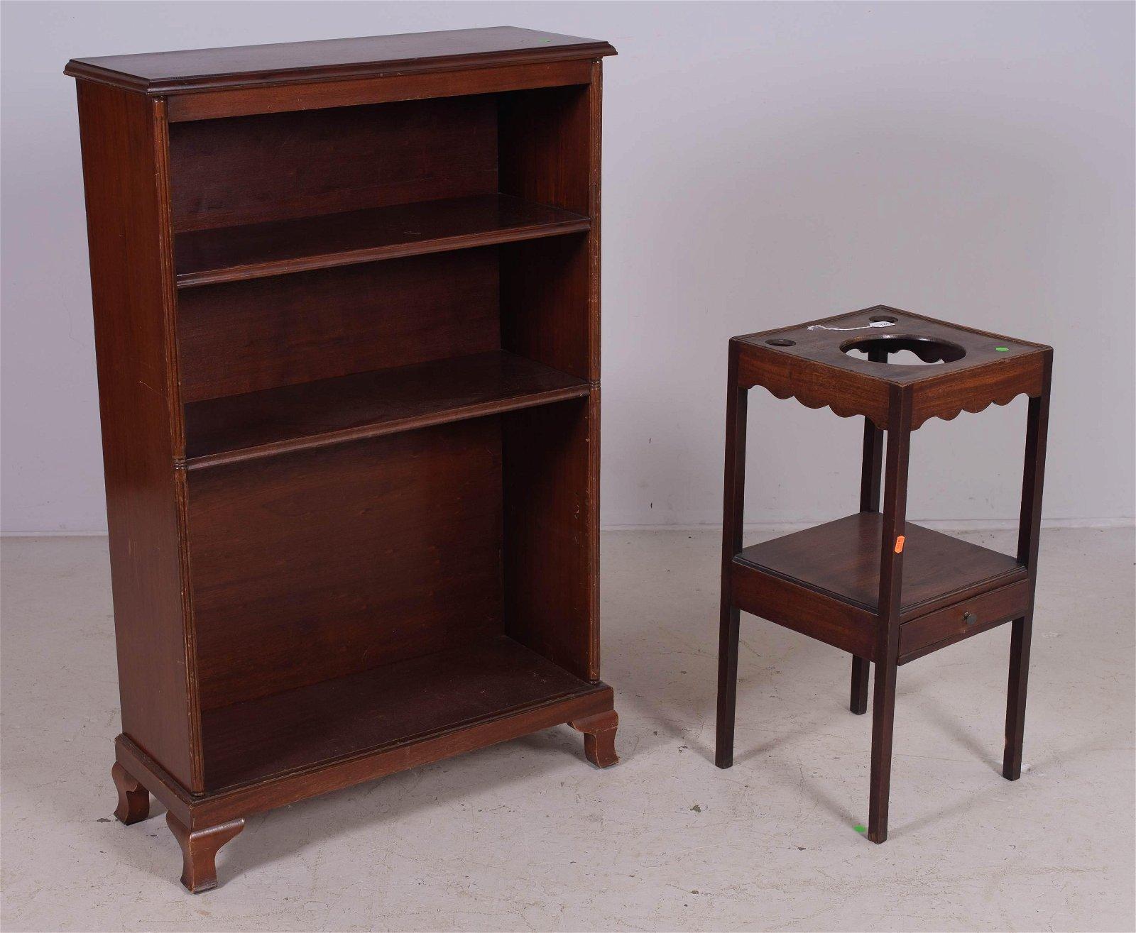 Graff Furniture mahogany bookcase