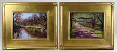Joe Kaz Kazimierczyk (2) Landscape Paintings