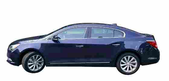 2016 Buick LaCrosse 4 Door Sedan, 5,379 miles