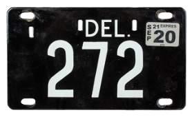 Delaware Active Registration, Tag 272