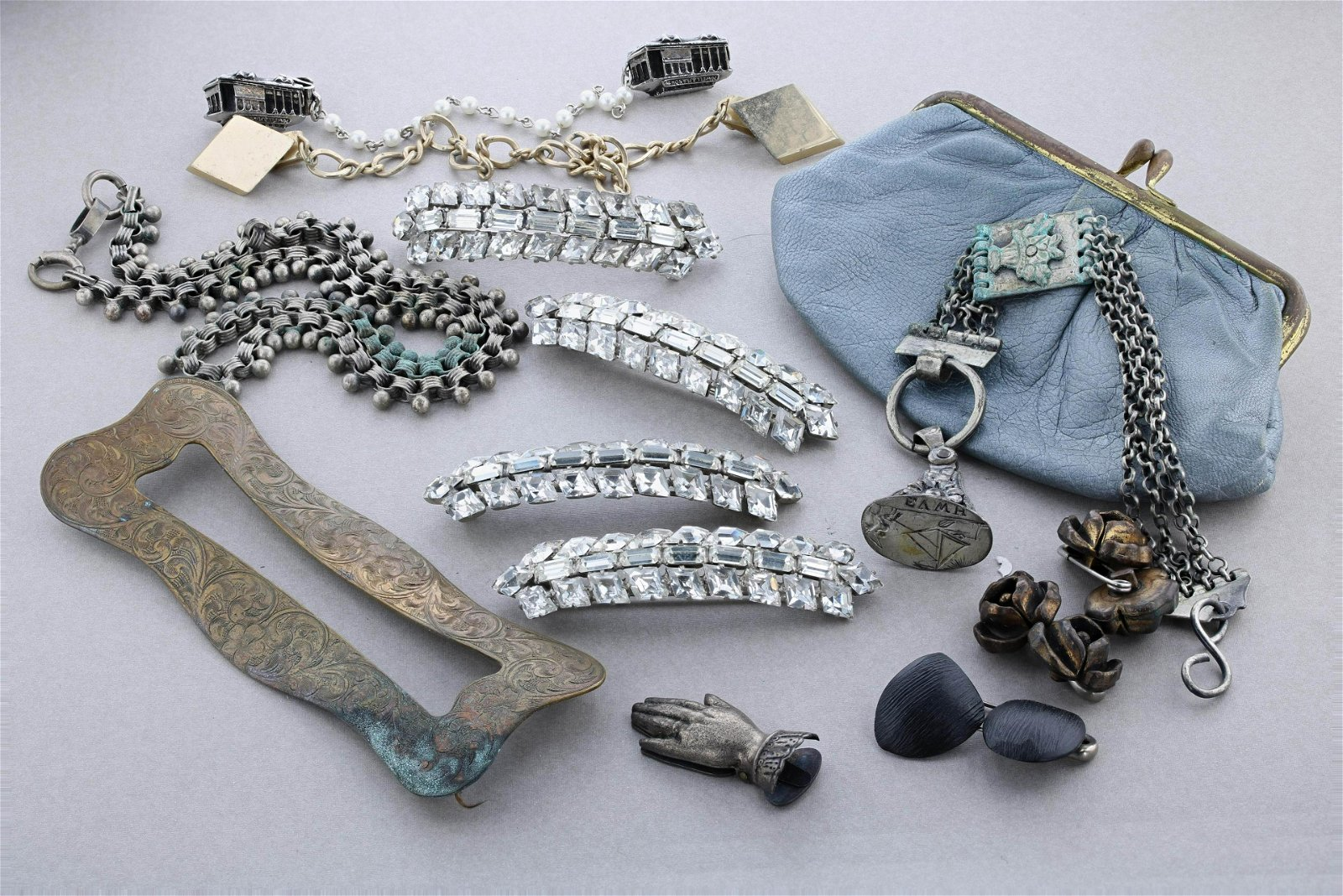 Antique Jewelry 13 Pc Group