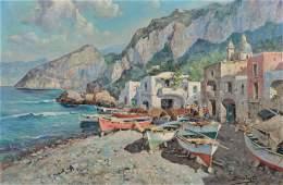 Philip Salvato Coastal Seascape Painting