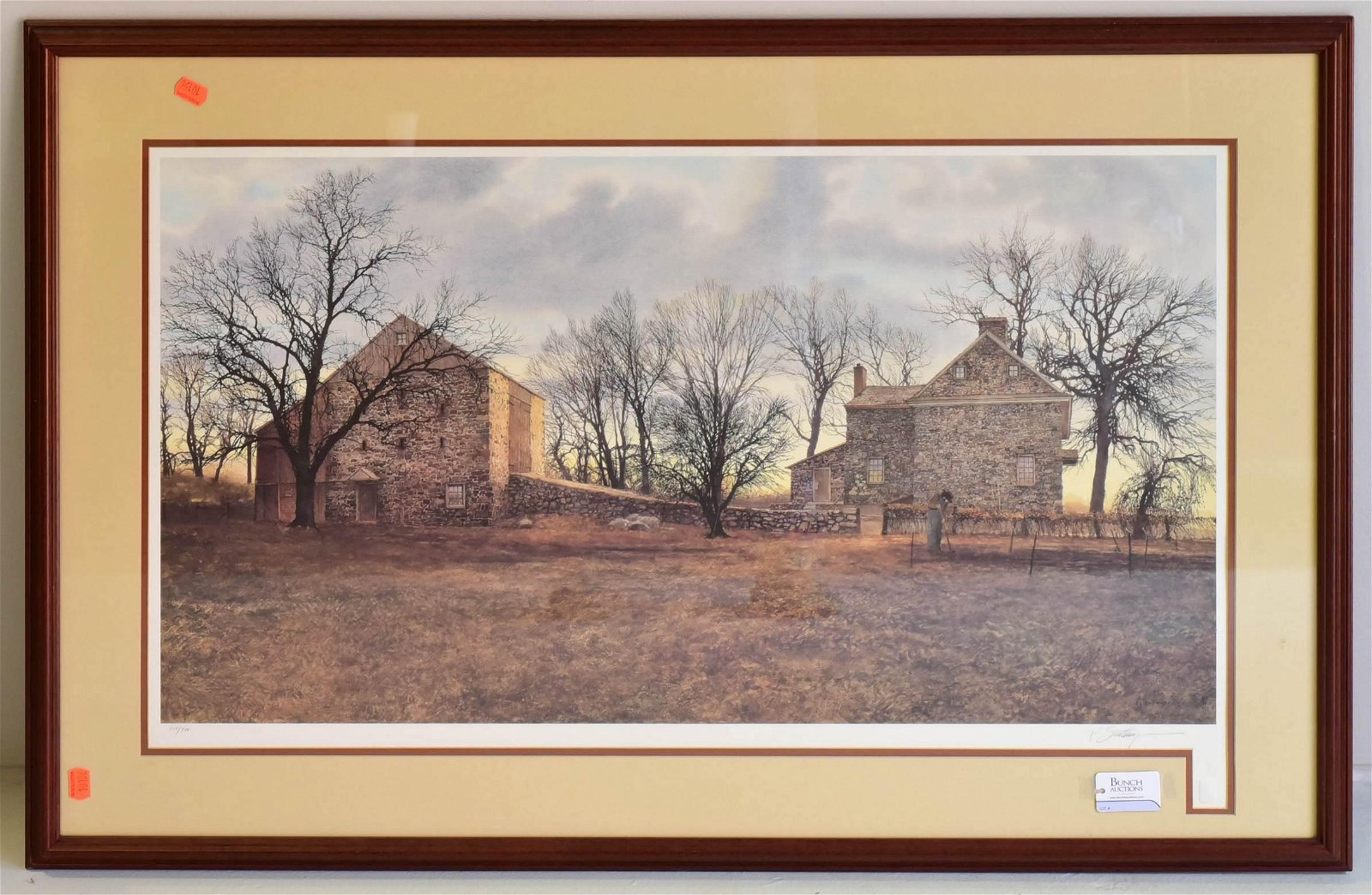 """Peter Sculthorpe Signed Litho """"Spring Covenant"""""""