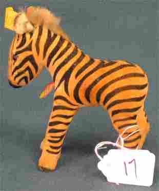 """5 1/2"""" Zebra, no tail"""