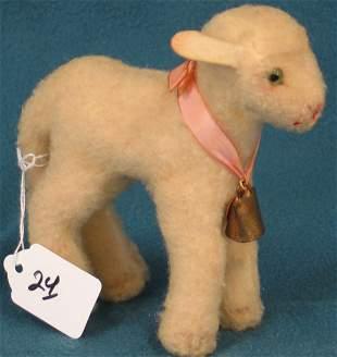 """5 1/2"""" Lamb, """"Lamby"""", no button"""