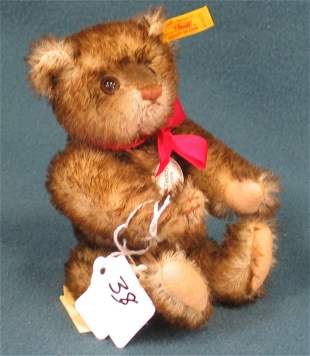 "4 1/2 "" Teddy Bear, Reproduction of 1926 Miniature,"