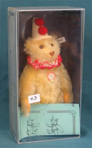 """15"""" Teddy Bear, """"Teddy Clown"""", Reproduction of 1926"""