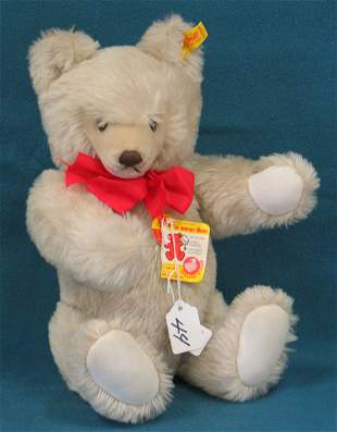 "15"" Teddy Bear, Gray, Jointed"