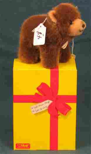 "3"" Teddy Bear, ""Browny"" w/box"