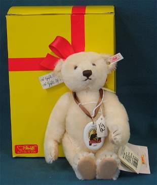 "12"" Teddy Bear, 150 Year Anniversary, White, Jointe"