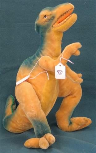 """15"""" Dinosaur, 1959 Original T Rex, Glass eyes,Joint"""