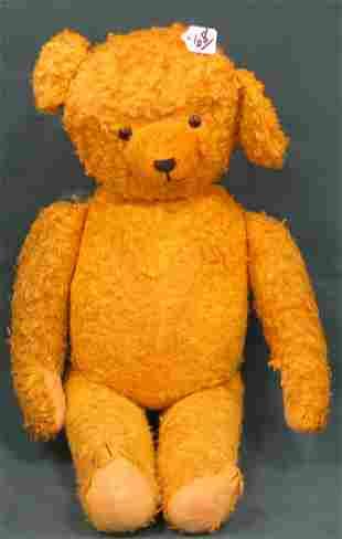 "22"" Teddy Bear, Glass eyes, unknown maker"
